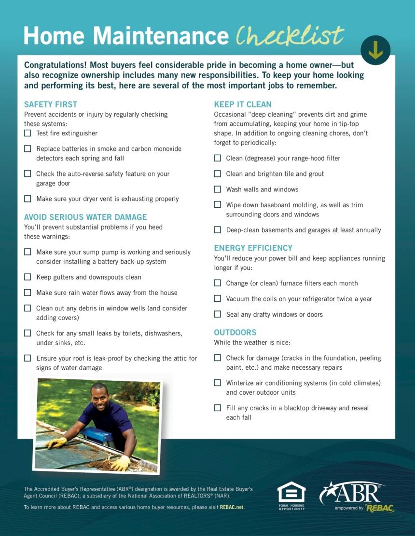 ABR Home checklist JPEG2